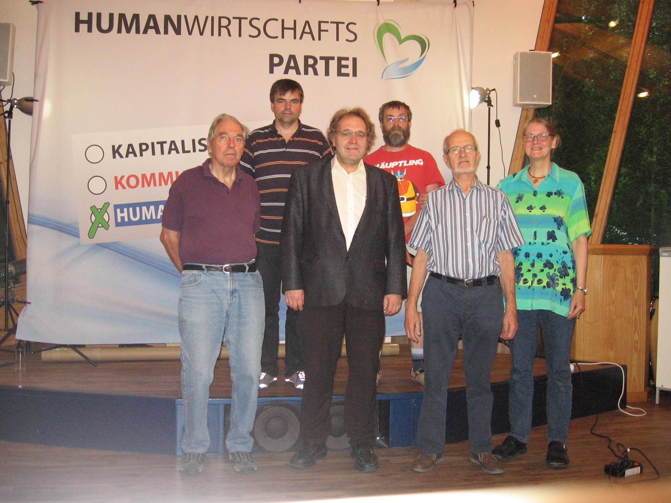 Bundesparteitag 2016 und Gründungsversammlung des Humanwirtschaftspartei e.V.
